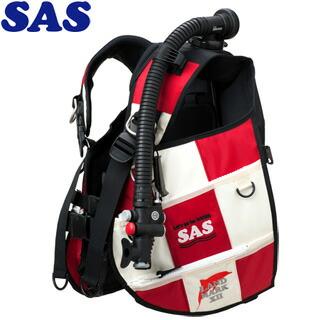 【SAS】10445ランドマークXIIAACS-1ホワイトシリーズホワイト/レッド【送料無料】