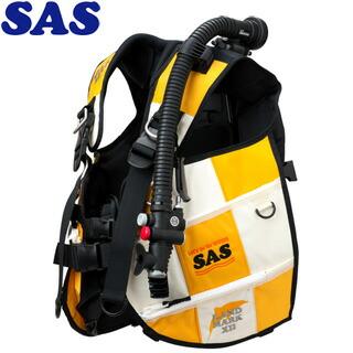 【SAS】10445ランドマークXIIAACS-1ホワイトシリーズホワイト/イエロー【送料無料】