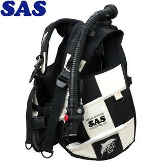 【SAS】10445ランドマークXIIAACS-1ホワイトシリーズホワイト/ブラック【送料無料】