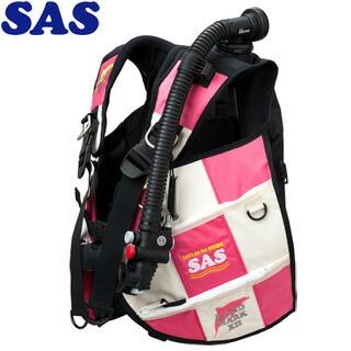 【SAS】10445ランドマークXIIAACS-1ホワイトシリーズホワイト/ピンク【送料無料】