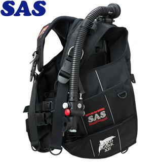 【SAS】10444ランドマークXIIAACS-1ブラックシリーズブラック/ブラック【送料無料】