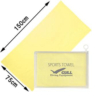 GULLGA-5074スポーツタオル(Lサイズ)