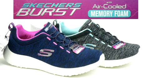 【SKECHERS】BURST 12431