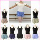 Ballet equipment ★ NEW ★ side Gaza & West wrap OK ♪ Ballet short pants