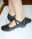 It is ★ black for / character dances for teachers whom there is a ballet shoes real leather heel in