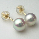 K18/K14WG/Pt900 Akoya pearl natural earrings (gray) ewl-5674 (Oh here or this Pearl Akoya this Pearl Pearl Earrings Oh Akoya pearls genuine Pearl Black Pearl Black Pearl atonal color Pearl flowers Pearl class 'Mata hemp glazed 18 k Gold Platinum 900)