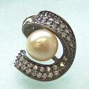 SV Akoya pearl brooch TAC 2 bwj-5019 (Oh Akoya pearl, here or this Pearl Akoya this Pearl Japanese Pearl Pearl)