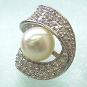 1 SV pearl oyster tuck broach bwj-5018( Ako and real pearl sum ball pearl)