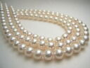 Akoya pearl long necklace nwl-5687 (Oh here or this Pearl Akoya this Pearl Oh Akoya pearls genuine Pearl Japanese Pearl Ise Shima Pearl オールノット)