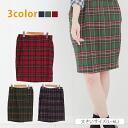 Large size ladies skirt ■ check pattern knee-length skirt helpline in tight skirt ■ ska-g. ska - g large SKIRT skirt L LL 3 l 4 l 5 l 11, 13, 15, 17, 19, [[K400231]]