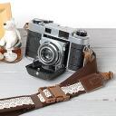 카메라 여자 귀여운! 여자 카메라 스트랩/레이스 브라운