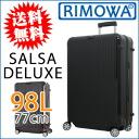 RIMOWA rimowa SALSA DELUXE Salsa Deluxe suitcase 98L/77cm 87073 black