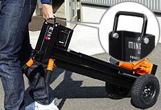 都港区手动液压劈柴机 ls 12 t (破碎强度 12 吨) [手砍柴购买机轴]图片