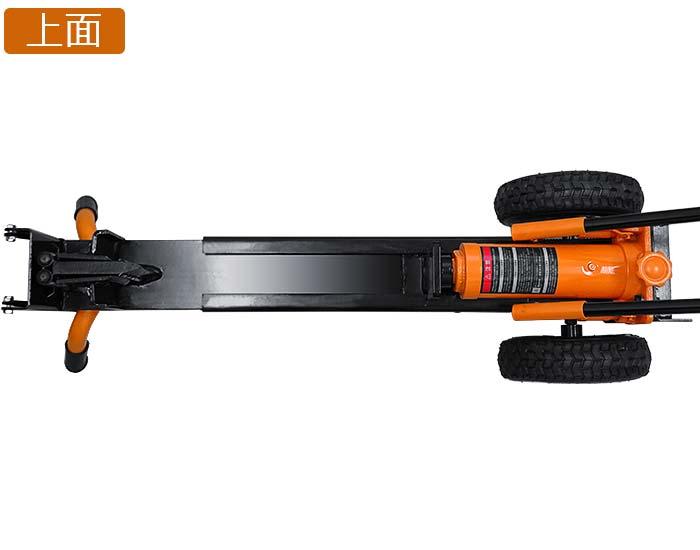 港区namikaze 手动液压劈柴机 ls-12 t (破碎强度 12 吨) [木柴购买图片