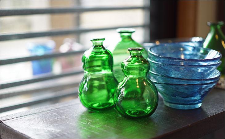 民藝のガラス