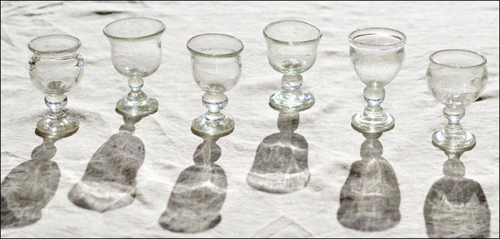 ガラスの酒器