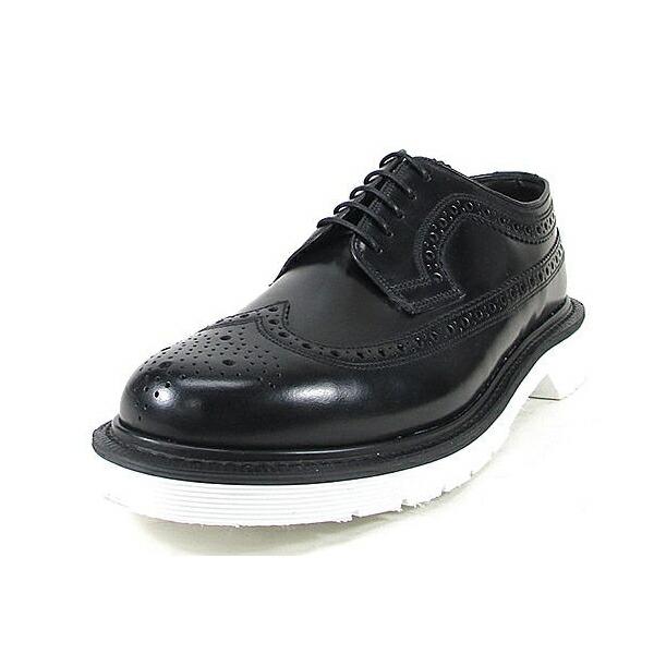 ローク ウイングチップ シューズ LOAKE 624 ブラック Made in ENGLAND カジュアル メンズ ウィングチップシューズ 靴 mens shoes 【送料無料】