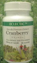 Cranberry herbal supplement review campaign eclectic company