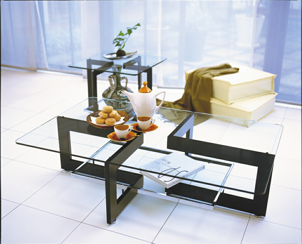 Mirage rakuten global market glass living coincide for Unique center table designs