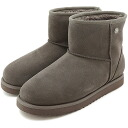 KOOLABURRA air conditioner bra mouton boots WATERPROOF CLASSIC ANKLE waterproof classical music ankle GREY (39,989-14 FW13) fs3gm