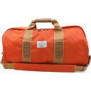 POLeR polar The Duffaluffagus duffel bag BURNT ORANGE (FW13) fs3gm