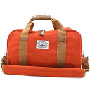 POLeR polar The Mini Duffle Bag ミニダッフル BURNT ORANGE ( FW12 )
