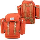 POLeR polar The Rucksack backpack BURNT ORANGE ( SS13 ) fs3gm