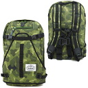 POLeR polar The Riding Pack riding pack backpack Green Camo (FW13)