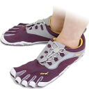 Five Vibram FiveFingers vibram five finger gap Dis BIKILA LS Purple vibram five fingers finger shoes raise of wages feet (W353)