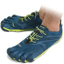 Five Vibram FiveFingers vibram five fingers men BIKILA EVO Deep Pond/Lime/Blue vibram five fingers finger shoes raise of wages feet (14M3101)