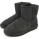 emu emu sheepskin boots STINGER MINI stinger mini-BLACK (W10003 FW12)