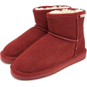 BEARPAW bearpaw Sheepskin boots Lite Demi Demi light Sheepskin boots Redwood ( 619 LW FW14 )