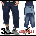 ■Surprising 30% OFF!! ■GRAMICCI グラミチ DENIM CROPPED PANTS denim cropped pants (GMP-12S020 SS12)