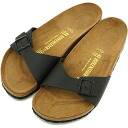 BIRKENSTOCK Birkenstock Womens mens MADRID Sandals Madrid black Dancewear for men ladies men's ladies BIRKEN STOCK birken-stuck (040793 / 040791-CLASSIC)