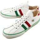fs3gm maccheronian マカロニアン sneakers 2215L leather WHITE/GREEN/RED ( 2215 L-MF SS13 )