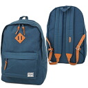 Herschel Supply Hershel supply bag Woodlands Wood orchids backpack (rucksack day pack) NAVY (10013-00007-OS FW12)