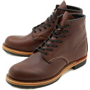 9016 6 inches of REDWING red wing boots # BECKMAN BOOTS Beckman Instruments boots round toe / plane toe CIGAR FEATHERSTONE (RED WING)