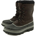SOREL Sorel boot CARIBOU WOOL boot caribou wool BLACK ( NM1481-010 ) fs3gm