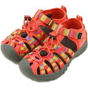 KEEN Kean TODDLER Whisper sports sandals we spar toddler (kids) Raya/Hot Coral (1008542 SS13)