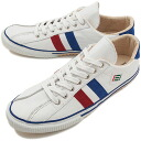 fs3gm maccheronian マカロニアン sneakers 2215L sneakers leather WHITE/RED/BLUE ( SU13 )