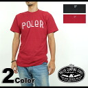 POLeR polar FURRY FONT T-Shirt F Lee font short sleeves T-shirt (SS13)