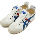 Onitsuka Tiger ONITSUKA Tiger sneakers MEXICO 66 SLIP-ON CV Mexico 66 slip-on CV white / tricolour ( TH1B 2N-0143 ) fs3gm