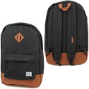 Herschel Supply Hershel supply bag Heritage heritage backpack (rucksack day pack) BLACK (10007-00055-OS SU13)