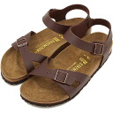 BIRKENSTOCK Birkenstock Womens RIO Sandals Rio Brown ladies ladies birken-stuck (031703 / 031701-CLASSIC) fs3gm