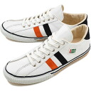 fs3gm maccheronian マカロニアン sneakers 2215L leather WHITE/ORANGE/NAVY ( FW13 )