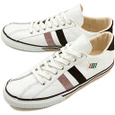 fs3gm maccheronian マカロニアン sneakers 2215L leather WHITE/PINK/BROWN ( FW13 )