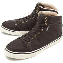 GRAVIS Gravis sneakers LOWDOWN HC MNS lowdown high cut mens BROWN ( 11639100-200 FW13 ) fs3gm