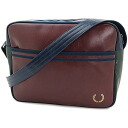 ■ surprise 40 %OFF! ■ FRED PERRY SHOULDER BAG Fred Perry mens shoulder bag MAROON/NAVY ( L2161-664 FW11 ) fs3gm