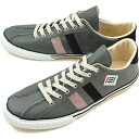fs3gm maccheronian マカロニアン sneakers 2215L leather DARK GRAY/PINK/NAVY ( FW13 )