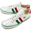 fs3gm maccheronian マカロニアン sneakers 2215L leather WHITE/GREEN/RED ( FW13 )